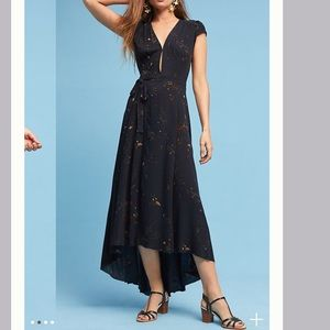 ISO AG Eveline Wrap Dress by Anthropologie SMALL